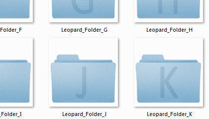 Leopard Folders Ico Png Download
